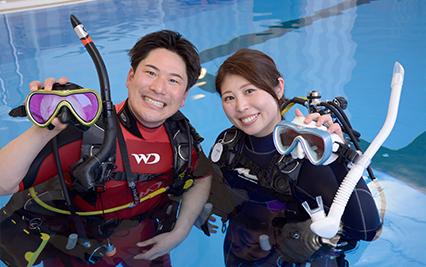 QUESTION #01. たくさんあるダイビングスクールの中からマレアを選んだ理由はなんですか?