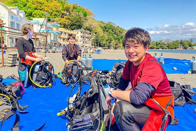 QUESTION #06 ダイビングインストラクターの仕事をしていなかったら<br /> 何をしていると思いますか?